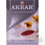 Akbar Earl Grey Black tea 100g