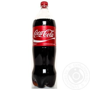 Напиток газированный Coca-Cola 1,5л