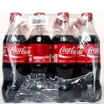 Напиток безалкогольный Кока-Кола пластиковая бутылка 500мл Украина