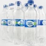 Bold sparkling mineral water Bon Aqua plastic bottle 500ml Ukraine