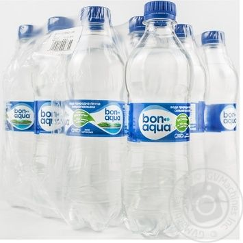 Вода Бонаква сильногазована пластикова пляшка 500мл Україна