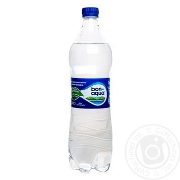 Вода Бонаква сильногазированная 1л