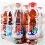 Non-alcoholic non-carbonated pasteurized drink Nestea Ice Tea with wild berries taste 500ml