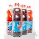 Non-alcoholic non-carbonated pasteurized drink Nestea Ice Tea with wild berries taste 6х1000ml plastic bottle Ukraine