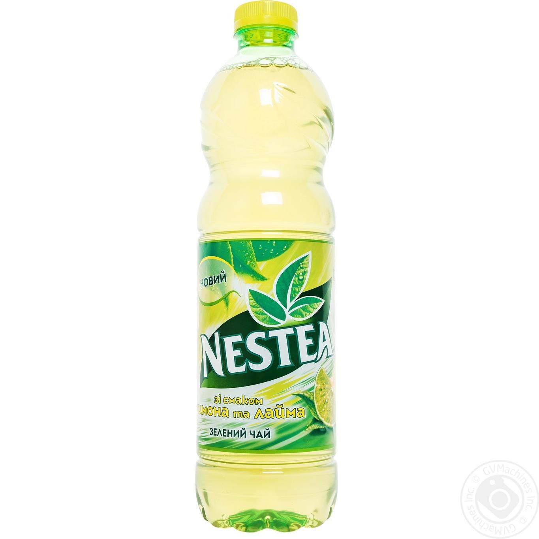 Tea Nestea Green Cold 1500ml Plastic Bottle Drinks Ice Lemon