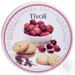 Cookies Tivoli oat cranberry shortbread 150g packaged