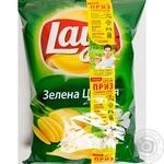 Чипсы Lay's картофельные со вкусом зеленого лука 133г Украина