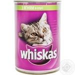 Whiskas Lamb In Sauce For Cats Food
