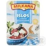 Сыр Милкана Ислос рассольный салатно-бутербродный 41% 180г ванночка Польша