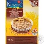 Хлопья Нордик 5 видов зерновых из цельного зерна 600г
