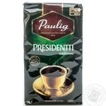 Natural ground medium roasted coffee Paulig President 500g Finland