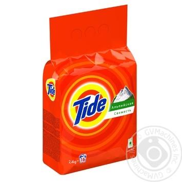 Порошок стиральный Tide Альпийская свежесть автомат 2,4кг