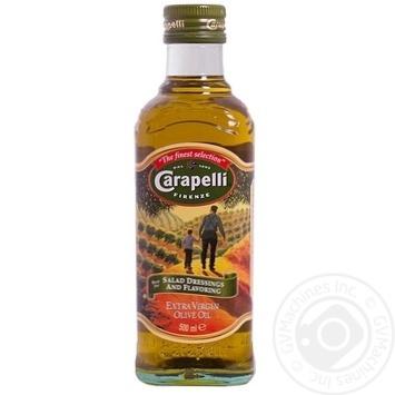 Олія Карапеллі оливкова екстра вірджин першого холодного пресування 500мл Італія