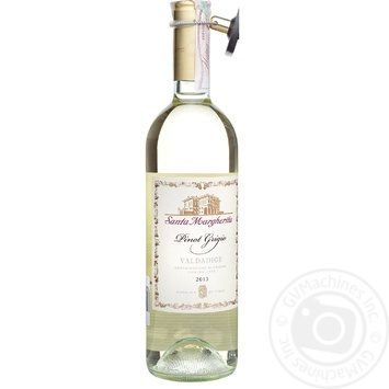 Вино Santa Margherita Pinot Grigio Valdadidge DOC 12% 0,75л