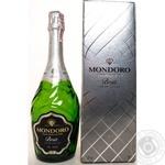 Вино игристое Mondoro Brut  белое 12% 0,75л