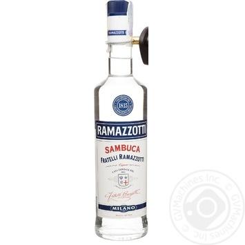 Ликер Ramazzotti Sambuca анисовый 38% 0,7л - купить, цены на СитиМаркет - фото 1