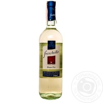 Вино Freschello Bianco Dry белое сухое 10,5% 0,75л