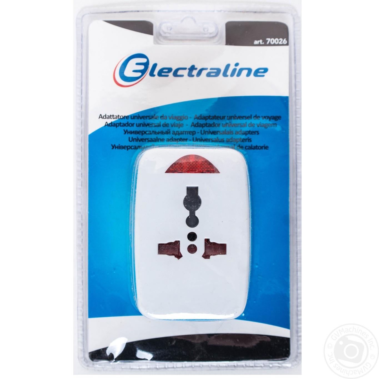 Адаптер універсальний Electraline на всі типи розеток 16А → Для ... da63e5abdb63c