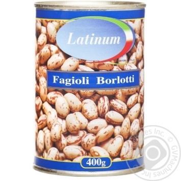 Фасоль Latinum Fagioli Borlotti 400г