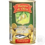 Maestro de Oliva Green Olives with tuna 300ml