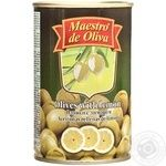 Оливки зелені Maestro de Oliva з лимоном 300мл