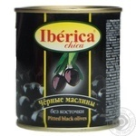 Iberica Chika Pitted Black Olives 200ml