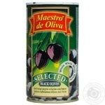 olive Maestro de oliva black with bone 360g can