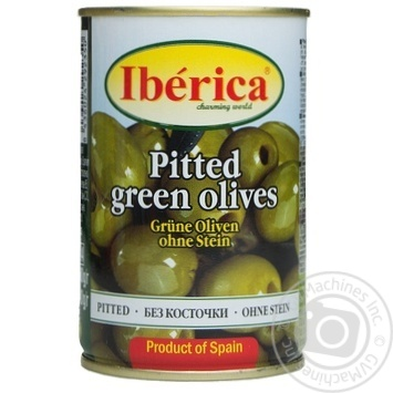 Iberica Pitted Green Olives - buy, prices for MegaMarket - image 1