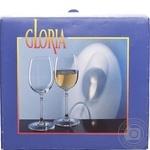 Glass Gloria for wine 6pcs 150ml