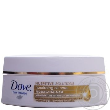 Маска Dove Hair therapy Живильний догляд 200мл