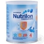 Powdered baby milk Nutrilon Nutricia 4 Immunofortis for 18+ months babies 400g The Netherlands