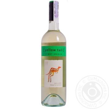 Вино Casella Wines Yellow Tail Pinot Grigio белое сухое 11,5% 0,75л