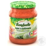 Vegetables Bonduelle squash canned 460g glass jar