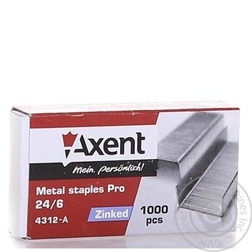 Axent PRO 24/6 Staples Refills 1000pcs - buy, prices for Metro - image 4