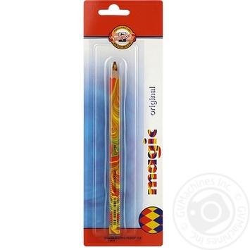 Олівець Koh I Noor Magic кольоровий - купити, ціни на Метро - фото 1