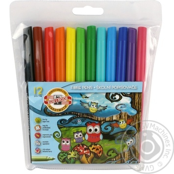 Koh-i-noor Set of markers 12pcs - buy, prices for Auchan - image 2
