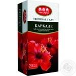 Чай трав'яний Три Слона Каркаде 20шт 1.5г