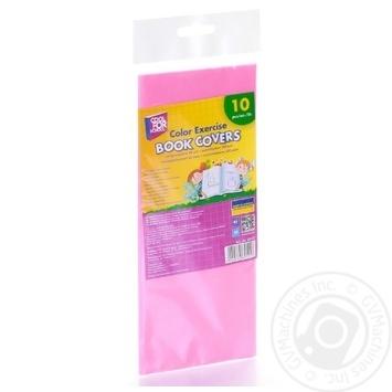 Обкладинки Cool For School для зошитів кольорові 10шт - купити, ціни на Метро - фото 5