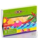 Пластилін ZiBi 8 кольорів 200г - купити, ціни на CітіМаркет - фото 4