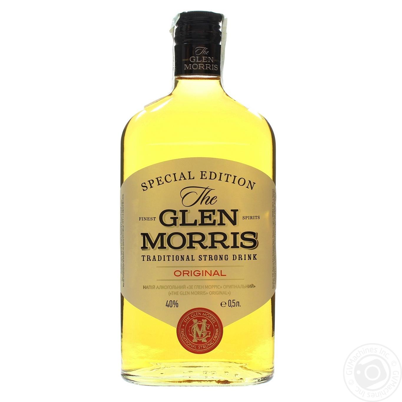Напиток алкогольный The Glen Morris крепкий 40% 0,5л
