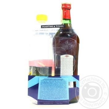 Набор: вермут Mартини Россо красный десертный 15% 0,5 л + Тоник Schweppes 0,5л - купить, цены на Novus - фото 2