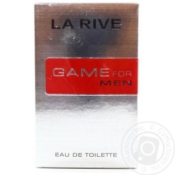 Чоловіча туалетна вода GAME FOR MAN , La Rive 100 мл - купити, ціни на Novus - фото 1