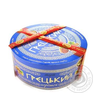 Торт БКК Греческий орешек 850г