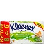 Kleenex Toilet paper gentle daisy 8 rolls