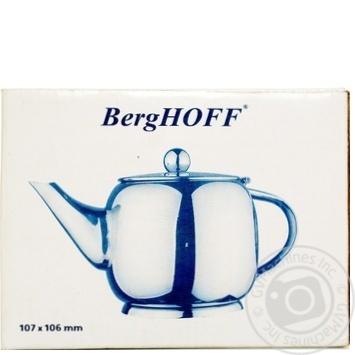 Чайник заварювальний BergHOFF 10,7*10,6см 0,6л 1106717А - купити, ціни на Novus - фото 1
