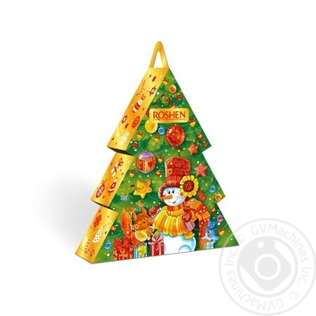 Новогодний подарок Рошен №7 Новогодняя Елка 444г