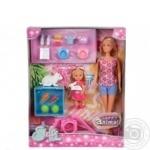 Ляльки Штеффі та Еві з тваринками Simba 5732156