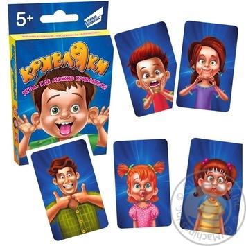 Гра дитяча настільна Кривляки Dream Makers-Board Games