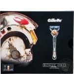 Н-р Gillette FusionProGlFlexb брит+1к+гел д/б 75мл шт