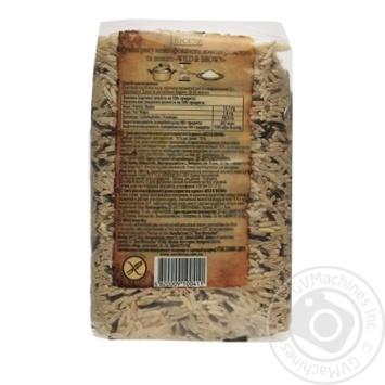 Рис World's Rice смесь нешлифованного длиннозернистого и дикого 500г - купить, цены на Novus - фото 2